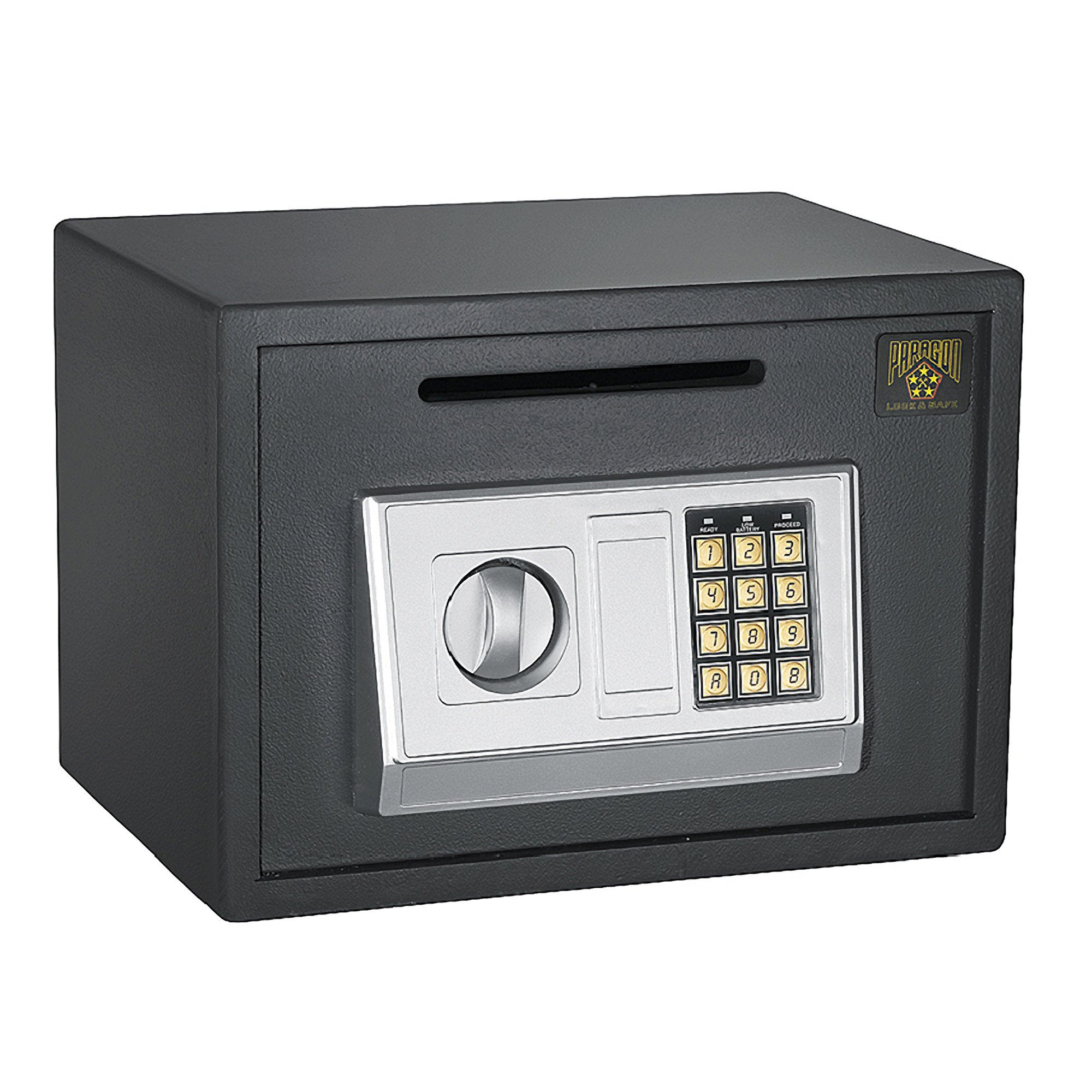 Paragon Lock and Safe 7875 Digital Depository Safe .67 CF Cash Drop Safes Heavy Duty Secure