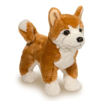 Douglas Dunham Shiba Inu Plush Stuffed Animal: Toys & Games