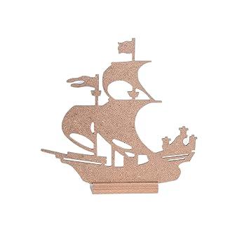 Ahşap Hobi Boyama Gemi 1 Küçük25x26cm 1büyük29x30cm Boy Amazoncom