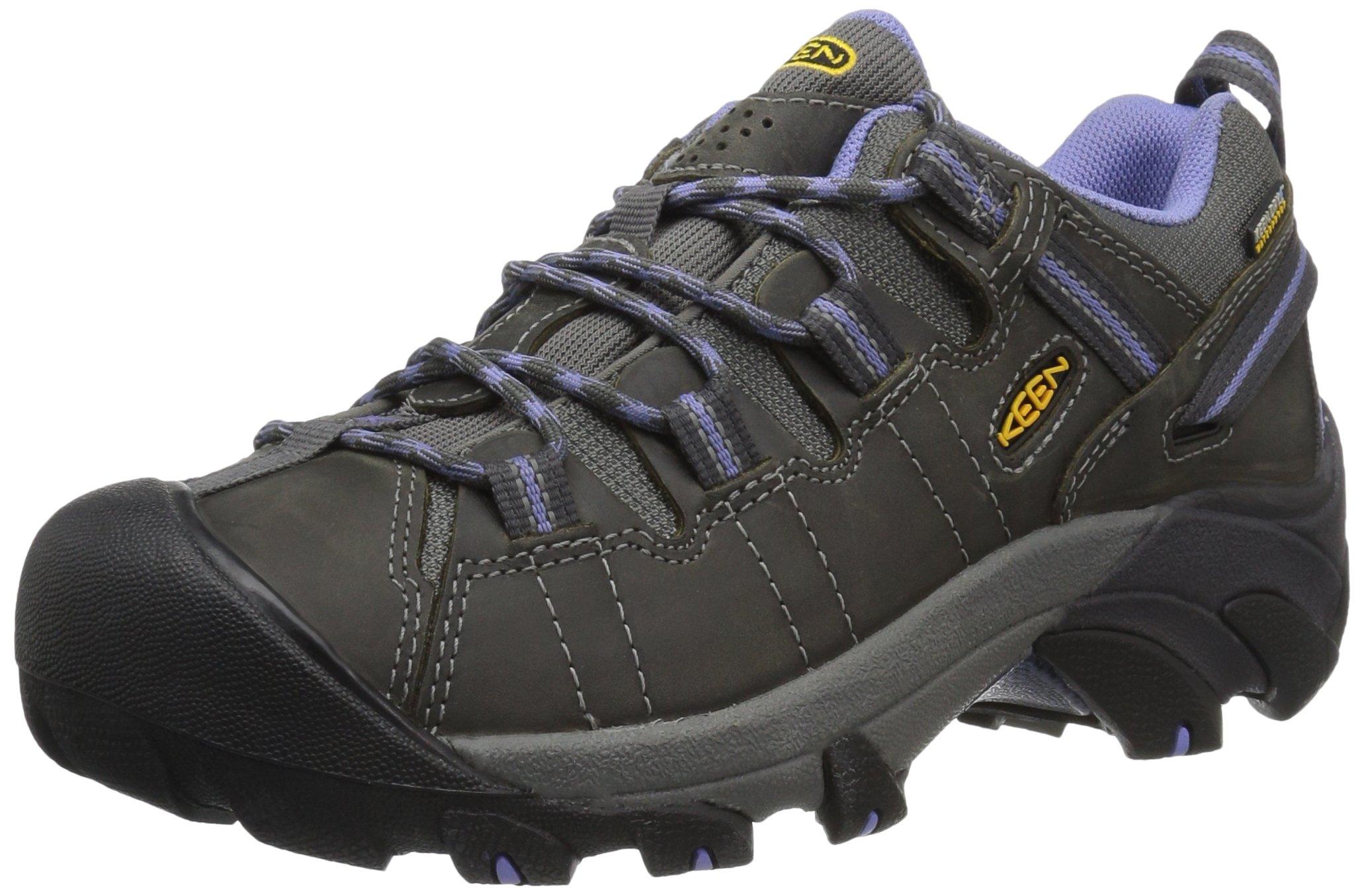 KEEN Women's Targhee II Outdoor Shoe, Magnet/Periwinkle, 8.5 M US by KEEN