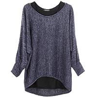 Emma & Giovanni - Damen Oversize Oberteile Tshirt/Pullover (2 Stück)