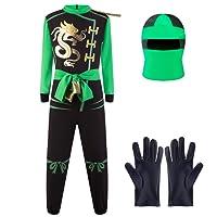 Katara Disfraz de Ninja, Color Verde-Lloyd, M 6-8 años (1771-02)