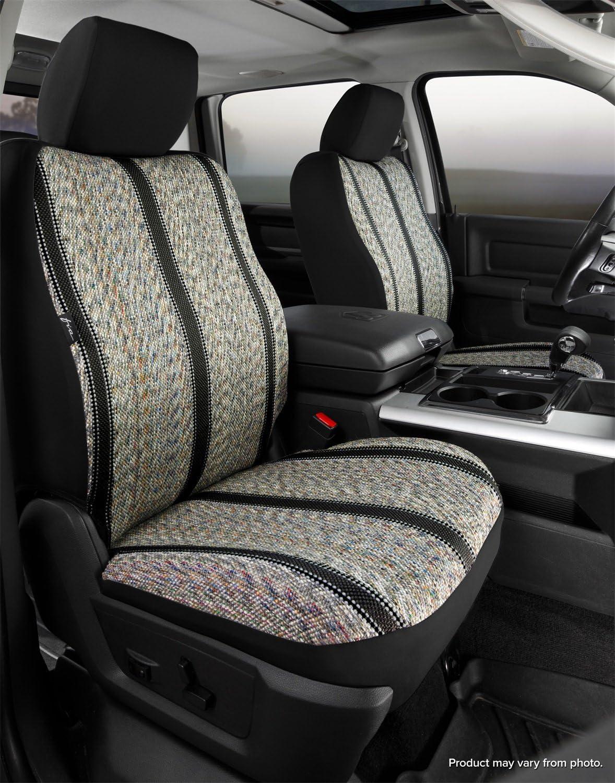 Rear Split Seat 40//60//Saddle Blanket Fia TR42-86 Gray TR40 Wrangler Gray Seat Cover