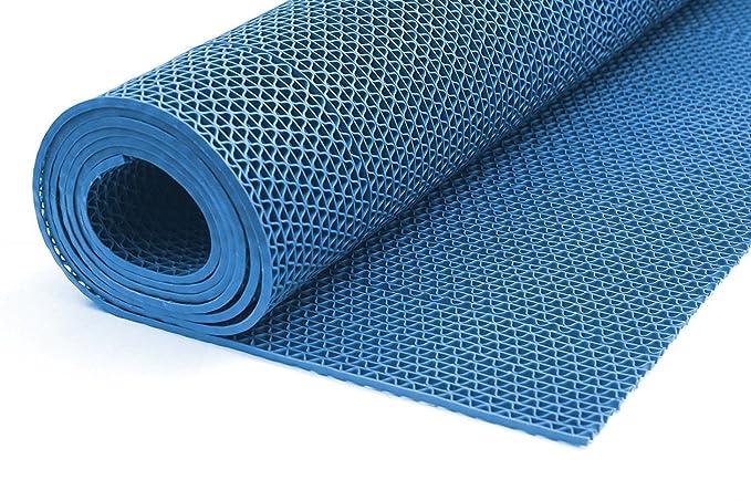 90cm Breite, Blau addys-onlinesale Bodenmatte Saunal/äufer