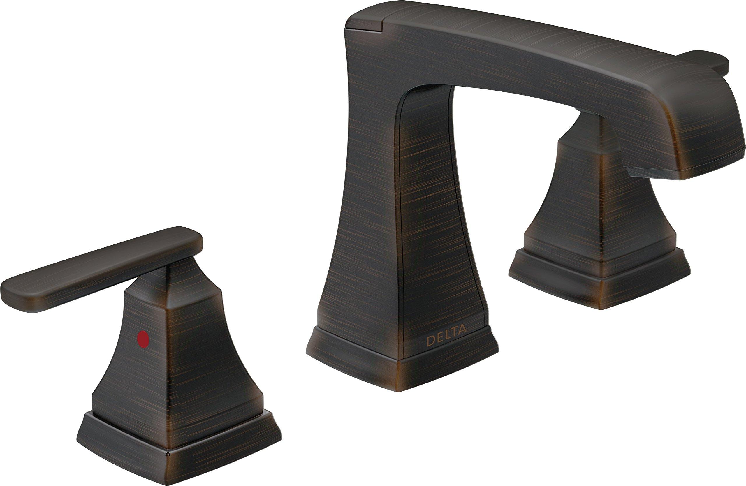 Delta Faucet 3564-RBMPU-DST Ashlyn Two Handle Widespread Bathroom Faucet, Venetian Bronze