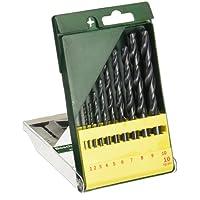Bosch HSS-R Metal Drill Bit Set (10-Piece)