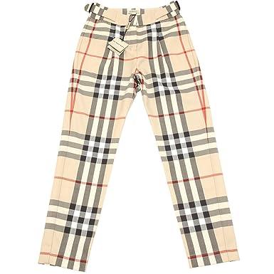Pantalone Bimba Kids Pants Burberry Pantaloni Trousers 3425h Check uPXikZ