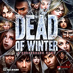 Plaid Hat Games Dead of Winter Crossroads Board Game - 14 Years & above
