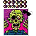 Beistle Pin The Eyeball On The Zombie Games - 1 Pc