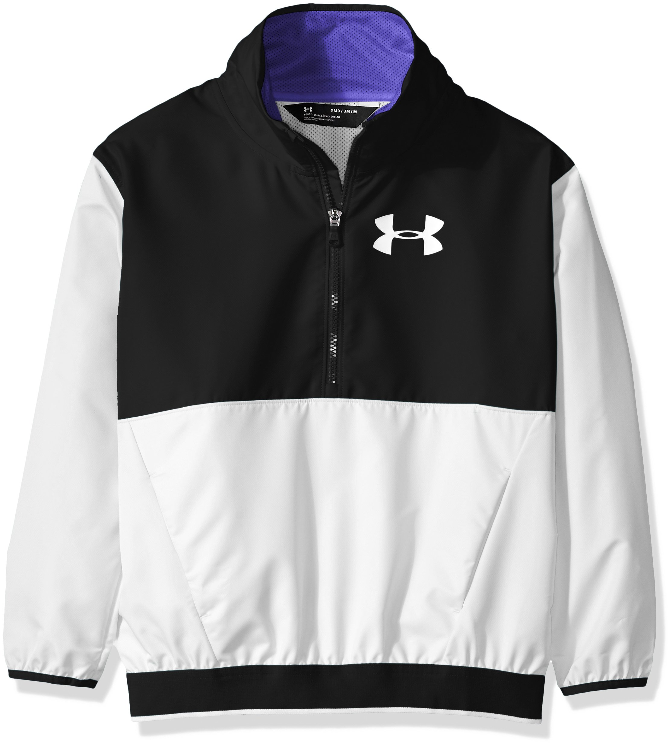 Under Armour Girls' Boat House Jacket,White (100)/White, Youth X-Large by Under Armour