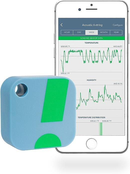SensorPush Termómetro/Higrómetro Inalámbrico iPhone/Android – Sensor Inteligente de Humedad y Temperatura con Alarmas. ¡Aplicación Disponible en español!: Amazon.es: Hogar