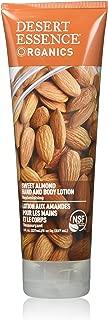 product image for Desert Essence Sweet Almond Hand & Body Lotion - 8 Fl Ounce - Replenishing - Aloe Vera - Shea Butter - Jojoba Oil - Nourishes Dry Skin - Soft & Silky - Vitamin A, B & E