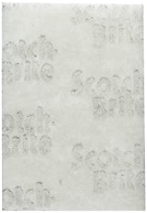 3M Scotch-Brite Light Duty Cleaning Pad , 6-Inch by 9-Inch (98)- 20 count