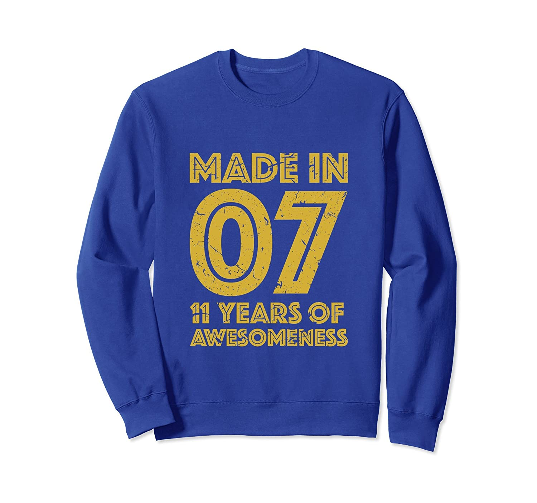 11th Birthday Sweatshirt Gift Girl Boy 11 Yr Old Girls Boys Prm Paramatee