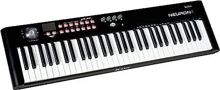iCON Neuron 6 - Teclado MIDI (61 teclas, USB), color negro ...