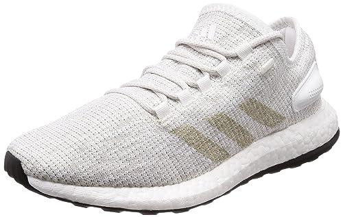 Mocassins Femme  adidas Pureboost - Chaussures de Running Entrainement - Homme - Blanc (Ftwbla/Griuno/Ftwbla) - Taille: 46 2/3 EU  41 EU zuqBbLI8