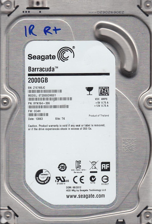 ST2000DM001 Seagate SATA 3.5 PCB 9YN164-306 5011 G CC4H