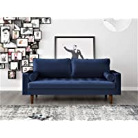 US Pride Furniture Womble 69.7 in. Velvet 2-Seater Lawson Sofa Deals