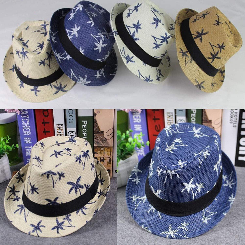 Hat Ladies Women Maple Leaf Straw Beach Sun Summer Hat Cap Cappellaio Matto