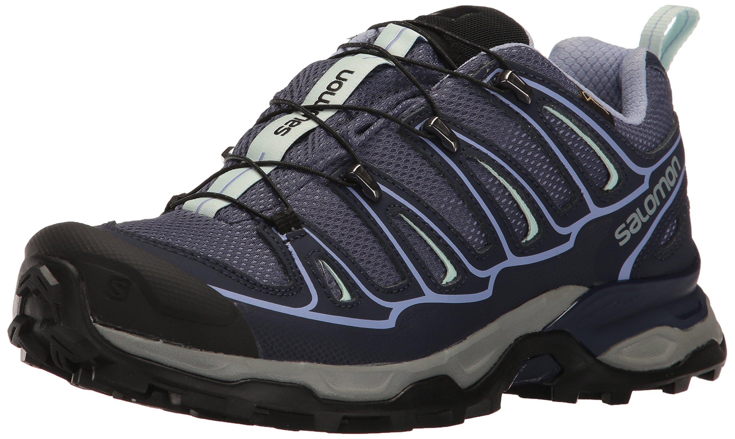 Salomon Women's X Ultra 2 Gtx W Hiking Shoe, Crown Blue/Evening Blue/Easter Egg, 6.5 M US