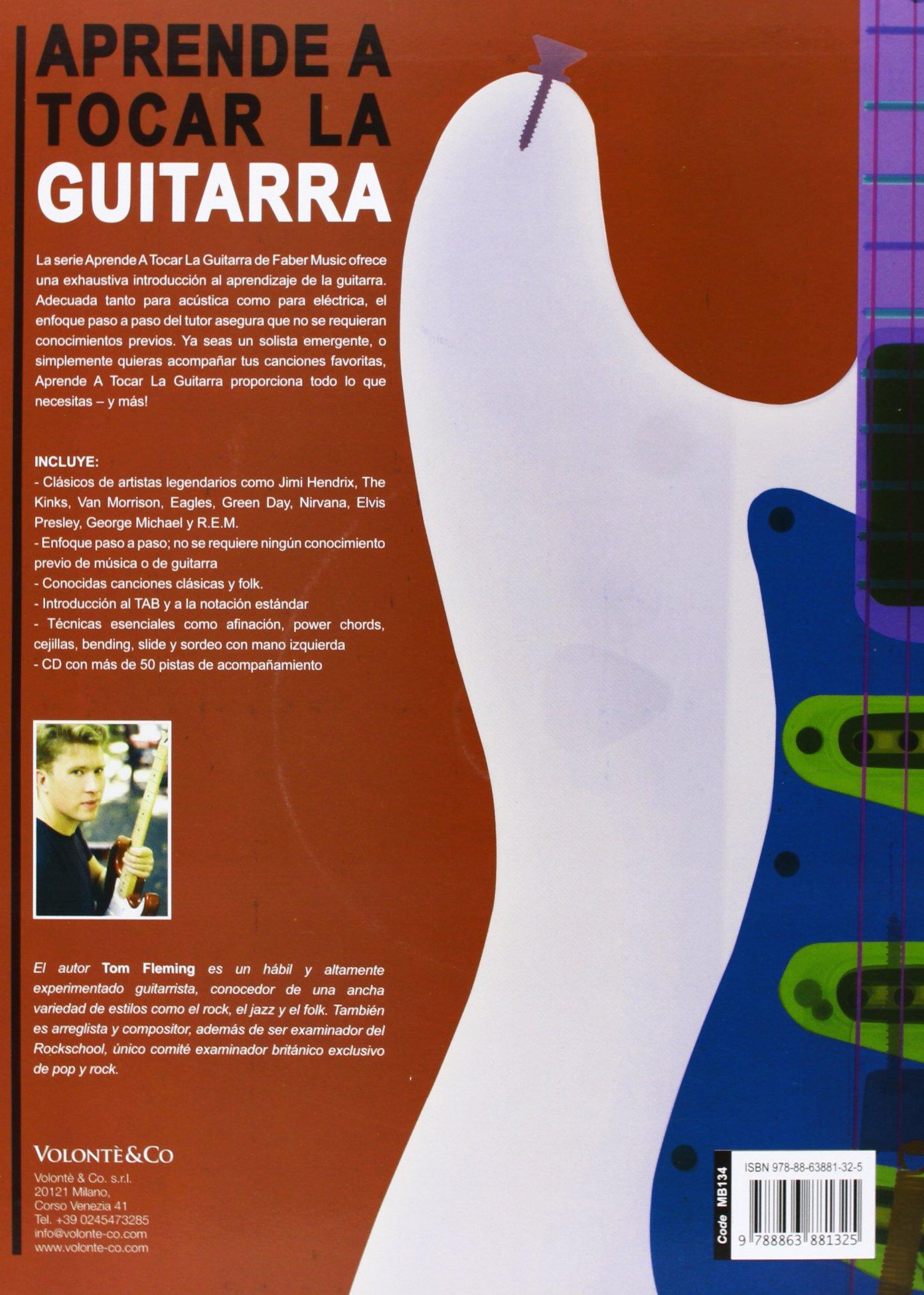 FLEMING T. - Aprende a Tocar la Guitarra (Inc.CD): FLEMING T ...