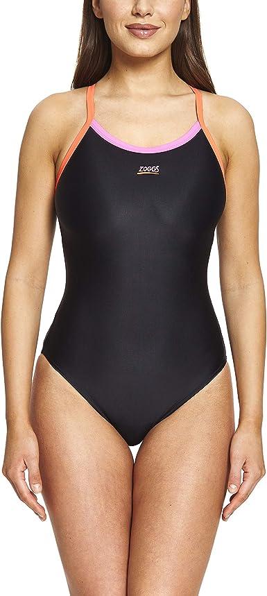 Zoggs Womens Cannon Strikeback Swimming Costume