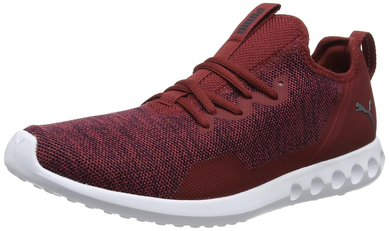 Puma Carson 2 X Knit, Zapatillas de Entrenamiento para Hombre 48.5 EU|Rojo (Pomegranate-asphalt 03)