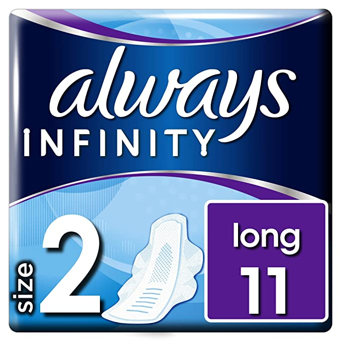 Always infinity - Compresas de incontinencia, normal con alas, pack de 3: Amazon.es: Alimentación y bebidas