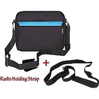 Saco Saregama Carvaan Portable Digital Music Player Bag Accessories from Carry Shoulder Pouch for SC02, R20005, SC03, SC01, SCM01 Models (Blue)
