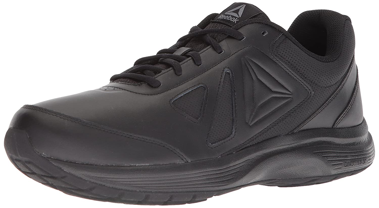 Reebok Men's Walk Ultra 6 DMX Max Sneaker B073WS8ZN3 14 D(M) US|Black/Alloy