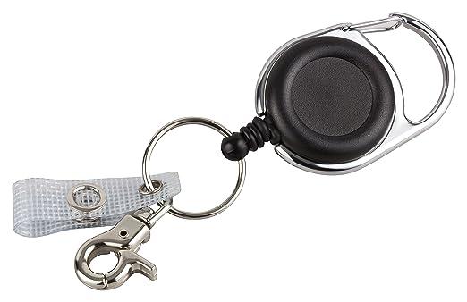 2 opinioni per YoYo portachiavi   JoJo per badge, documenti d'identità o per chiavi, con molla