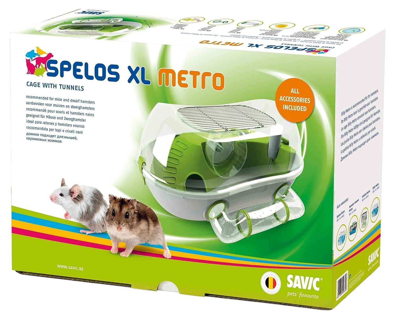 SAVIC Jaula spelos Metro, XL: Amazon.es: Productos para mascotas