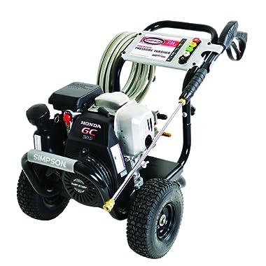 SIMPSON MSH3125-S MegaShot 3200 PSI 2.5 GPM Honda GC190 Engine Gas Pressure Washer