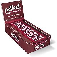 Nakd Berry Delight Gluten Free Bar 35 g (Pack of 18)