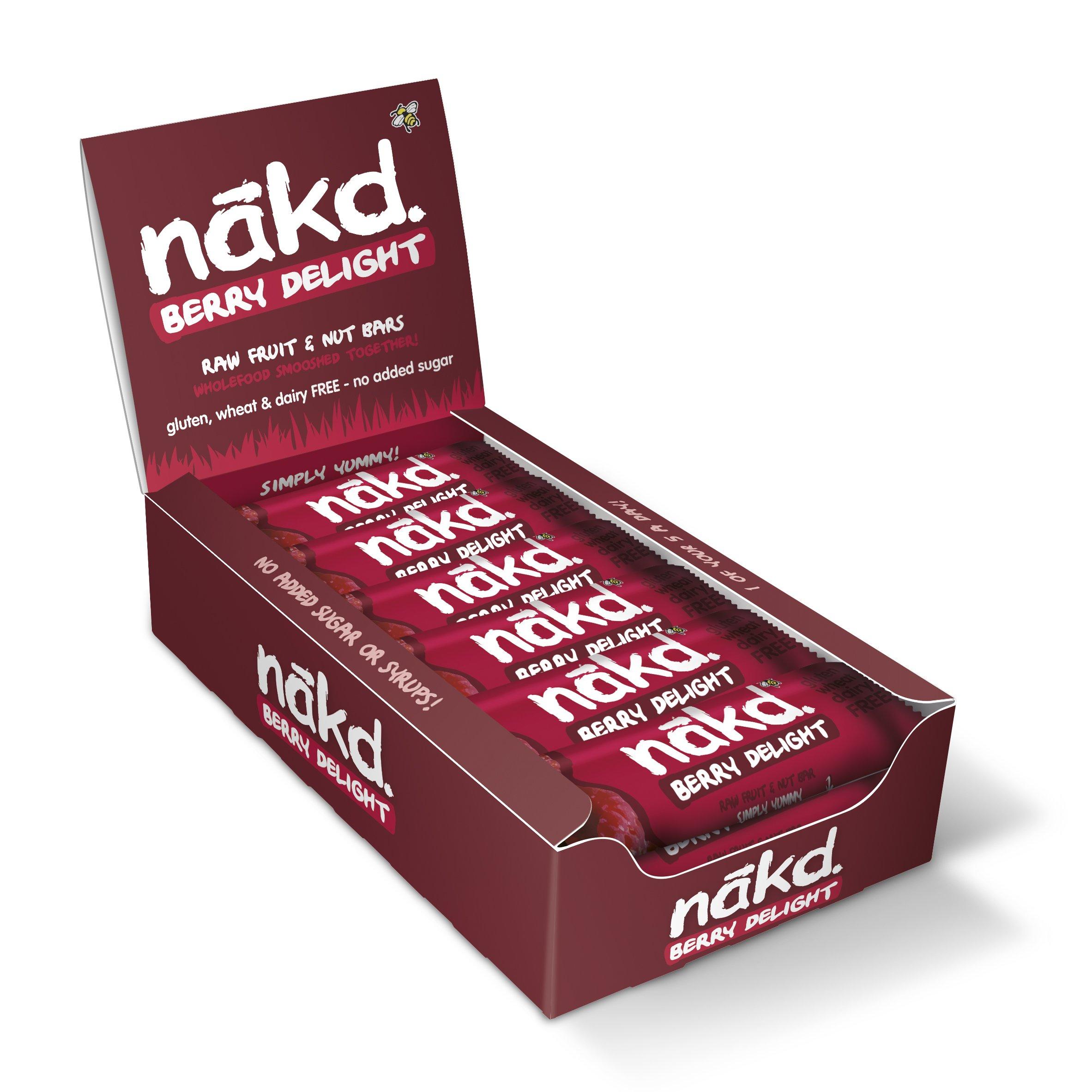 Nakd - Berry Delight Bar - 35g (Case of 18)