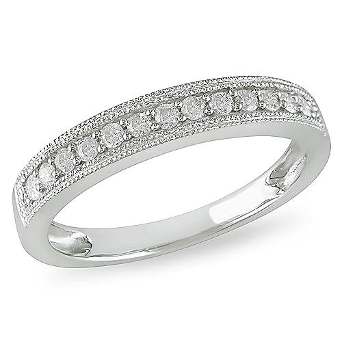Anillos de matrimonio con diamantes