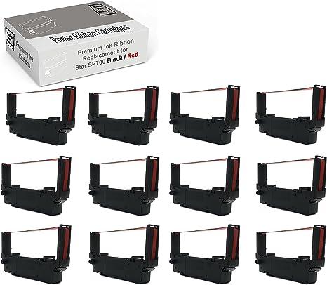 Amazon.com: Star SP700 - Cinta para impresora (12 unidades ...