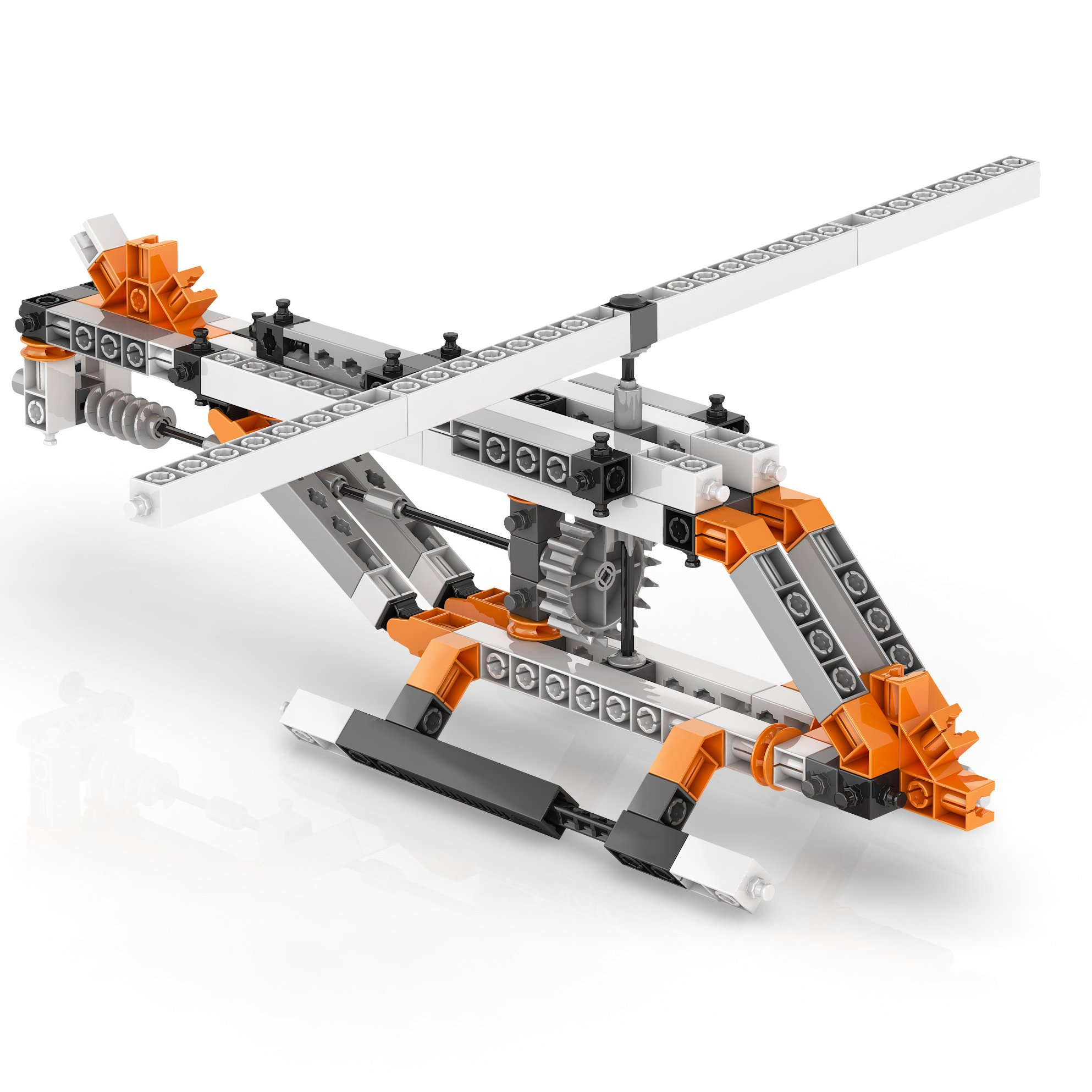 Engino Discovering STEM Simple Machines Mechanisms That Multiply Force Construction Kit by Engino (Image #9)