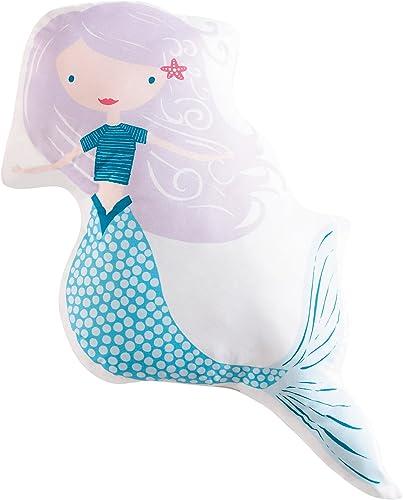 My World Mermaids Decorative Pillow, 21 x 21