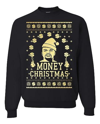 Floyd Mayweather Money Christmas Ugly Christmas Sweater Unisex