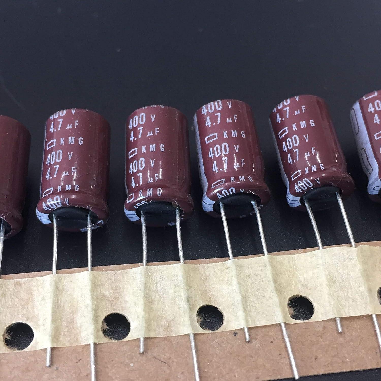 5PCS 4.7uF 400V NIPPON Chemi-Con NCC KMG Series 10x16mm 400V4.7uF Condensateur /électrolytique en aluminium
