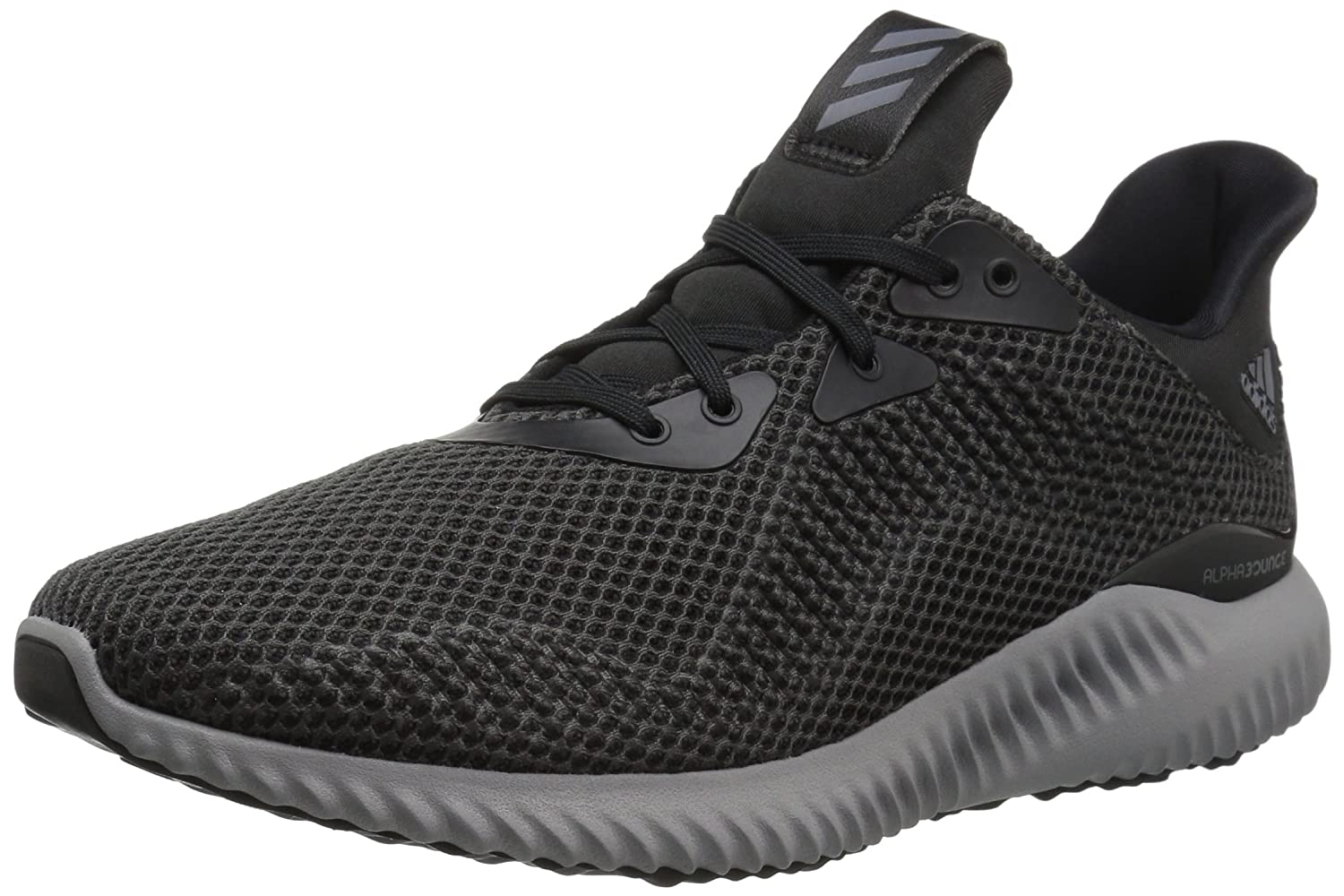 adidas Performance Women's Alphabounce W Running Shoe B01MXPM91D 10.5 B(M) US|Black/Utility Black/Grey Two