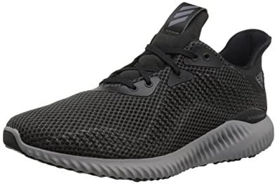 adidas Originals Women's Alphabounce 1 w Running Shoe, Black/Utility  Black/Grey Two