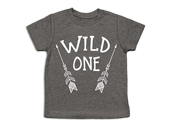 First Birthday Shirt Wild One 1st Party 12 Months