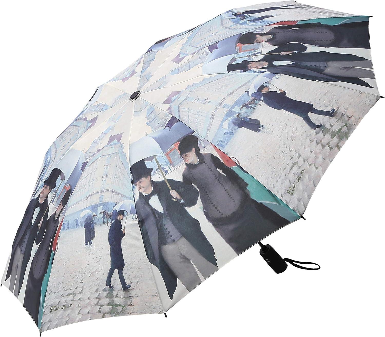 "RainCaper Windproof Auto Open//Close 46/"" Coverage Folding Travel Umbrella Crimson Black /& White Houndstooth Reinforced Rib Travel Umbrella w//Matching Sleeve"