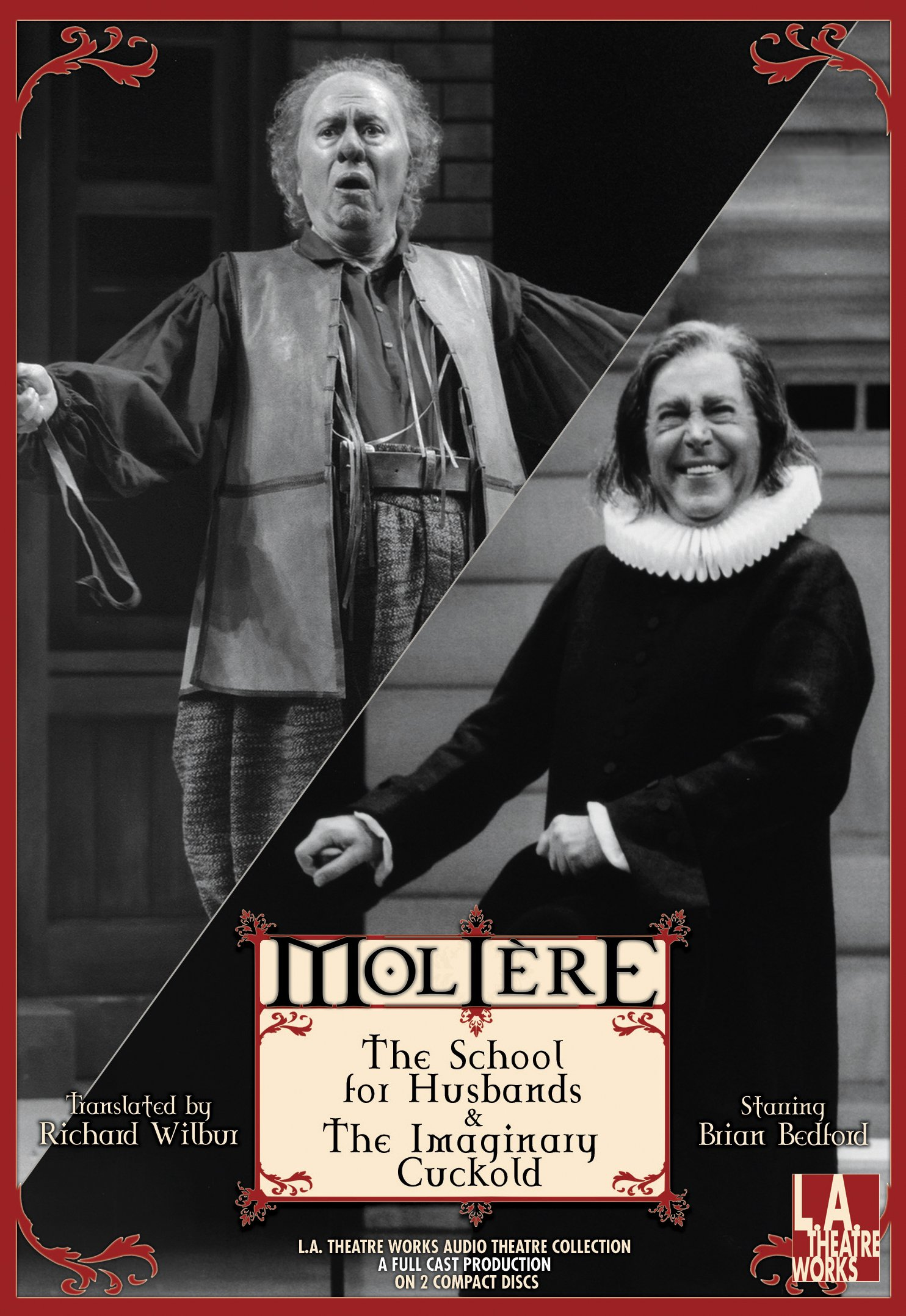 Download The School for Husbands and The Imaginary Cuckold (Library Edition Audio CDs) (L.A. Theatre Works Audio Theatre Collections) PDF