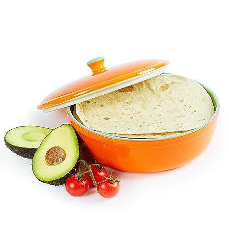 Uno Casa Sartén de tortitas – Calentador de tortillas y crepes de 21,5 cm