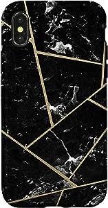 iPhone X/XS Black Yellow Case