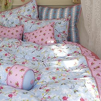 Pip 8715944067782 Bettwäsche Chinese Rosa 135 X 200 Cm Und 80 X 80