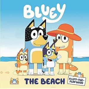 Bluey: The Beach: A Lift-the-Flap Book